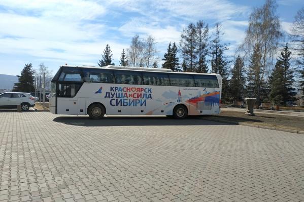 Новые автобусы поступили в Красноярск перед Универсиадой