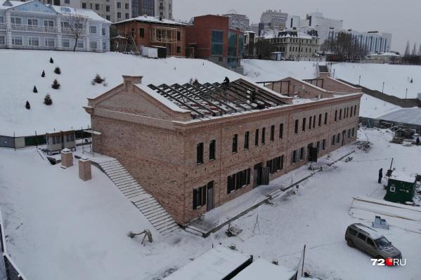 Пристанционные сооружения конца XIX — начала XX века обещали восстановить из исторического красного кирпича<br><br>