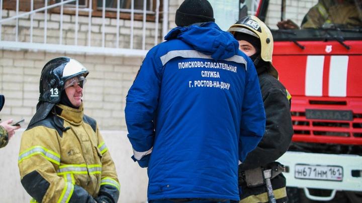 На Дону в районной больнице произошел пожар