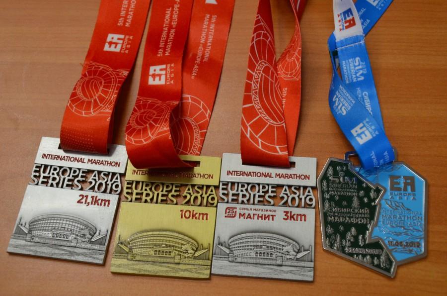 Такие медали получат участники марафона