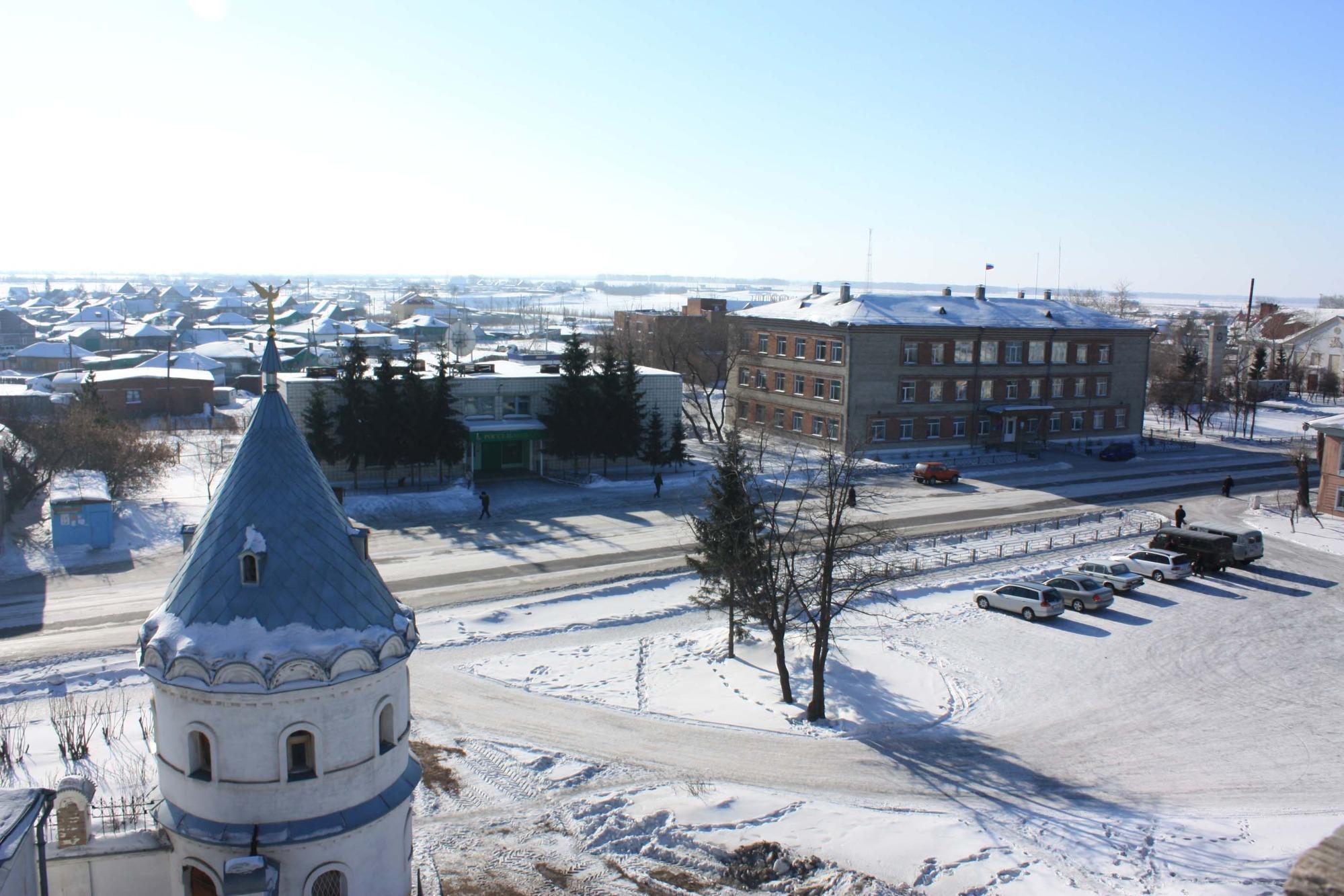 Вид на зимнее Венгерово