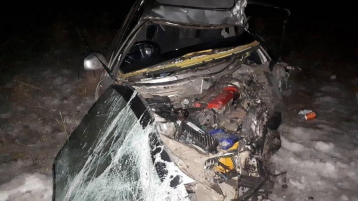 В аварии в Кетово чудом выжил пассажир легковой машины