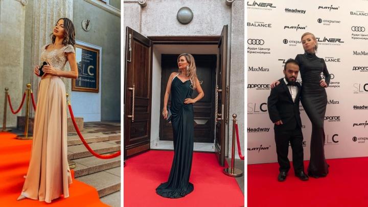 Красная ковровая дорожка по-красноярски: смотрим на наряды красноярцев на премии глянцевого журнала