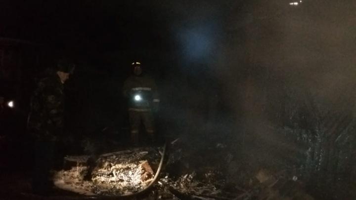 В Башкирии при пожаре в доме погиб 67-летний мужчина