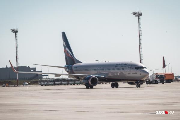 Самолет совершил посадку из-за онкобольного ребенка