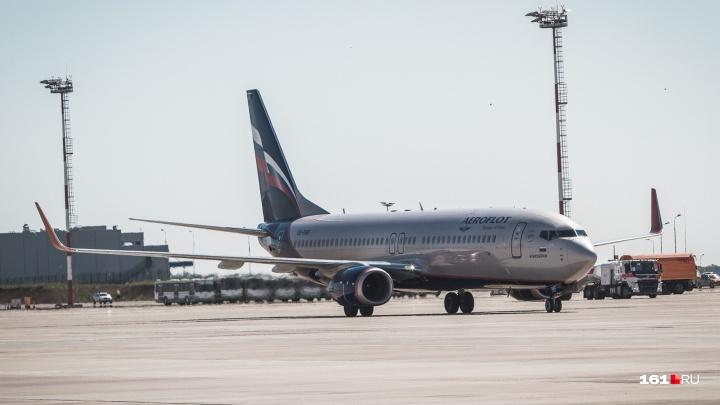 В Платове экстренно приземлился самолет, летевший в Тель-Авив