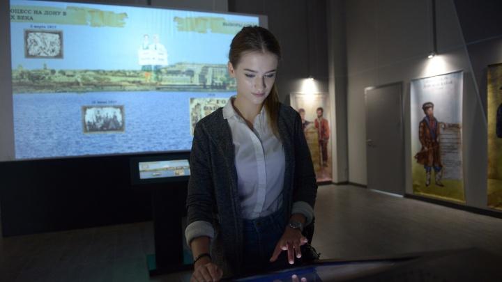 История донских выборов: бесплатная мультимедийная выставка открылась в Ростове-на-Дону