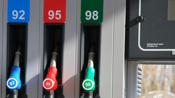 В Архангельской области стоимость бензина за месяц выросла в среднем на 5%