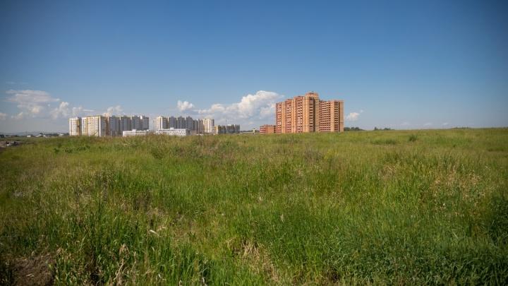 В мэрии ответили на претензии собственников земли за «Солнечным», где должен был появиться парк