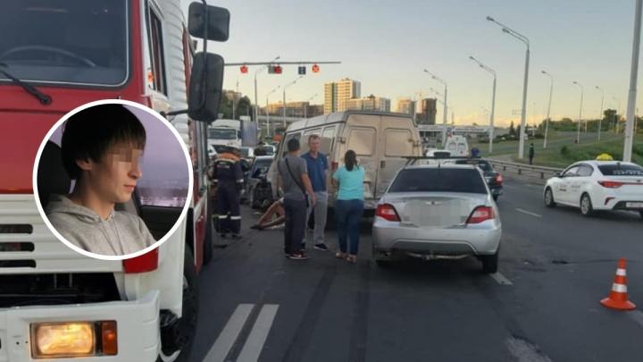 Стало известно состояние второго участника смертельного ДТП на Бельском мосту в Уфе