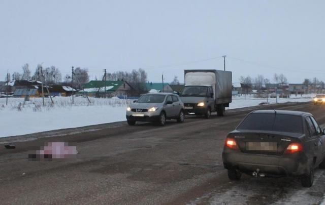 Жуткое ДТП в Башкирии: водитель Daewoo Nexia переехал лежащего парня