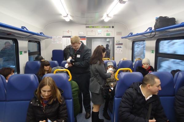Задача СКЖД — увеличить пассажиропоток городской электрички до 2000 человек