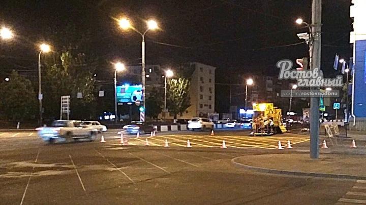 Штраф за въезд: в Ростове появилась новая дорожная разметка