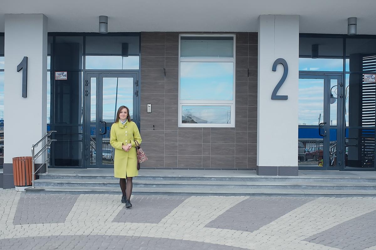 За полтора года Алена по достоинству оценила месторасположение своего нового дома
