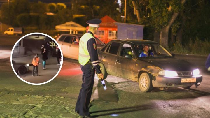 ГИБДД разыскала шутников с полосатой палкой, тормозивших машины у «Луча»