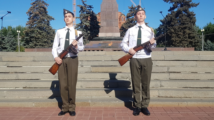 В Волгограде открыли Пост №1