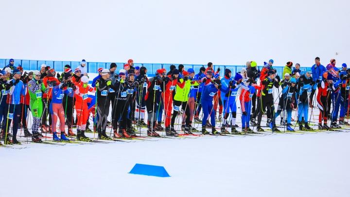 «Гонка была непростая»: как в Красноярске прошла «Лыжня России 2020»