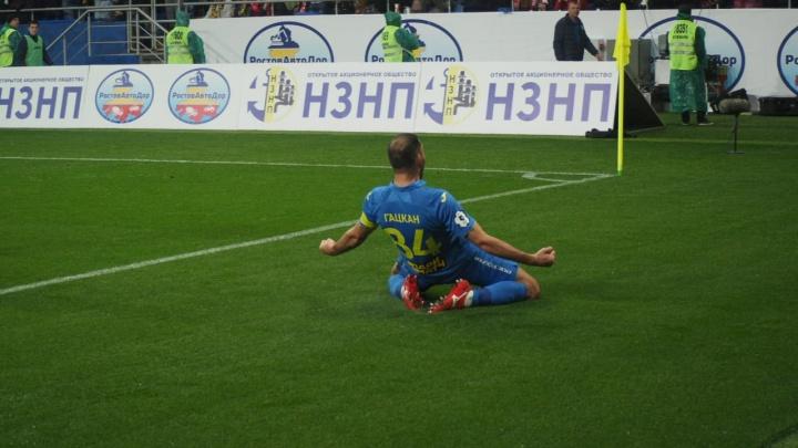Большой футбол: ФК «Ростов» победил московский «Спартак». Как это было — в режиме онлайн