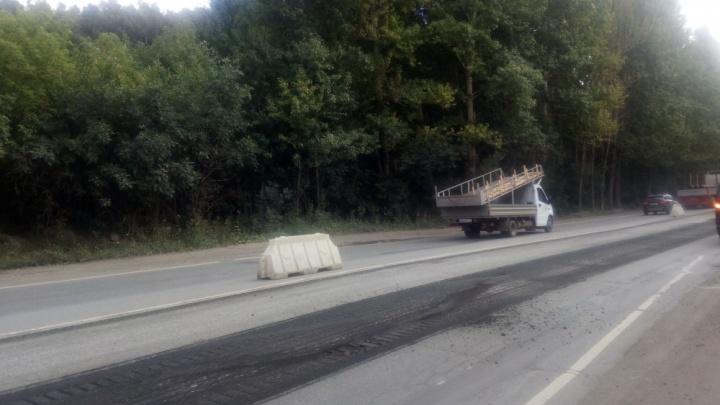 В Челябинске ограничили движение на дороге, соединяющей с Металлургическим районом