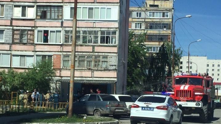 Мину, из-за которой во двор на Республики стянулись силовики, дети принесли с железной дороги