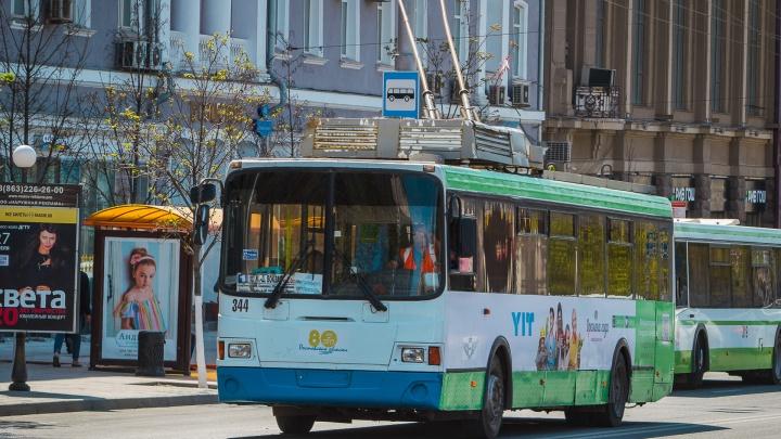 Вечером 9 мая в Ростове пустят дополнительный общественный транспорт