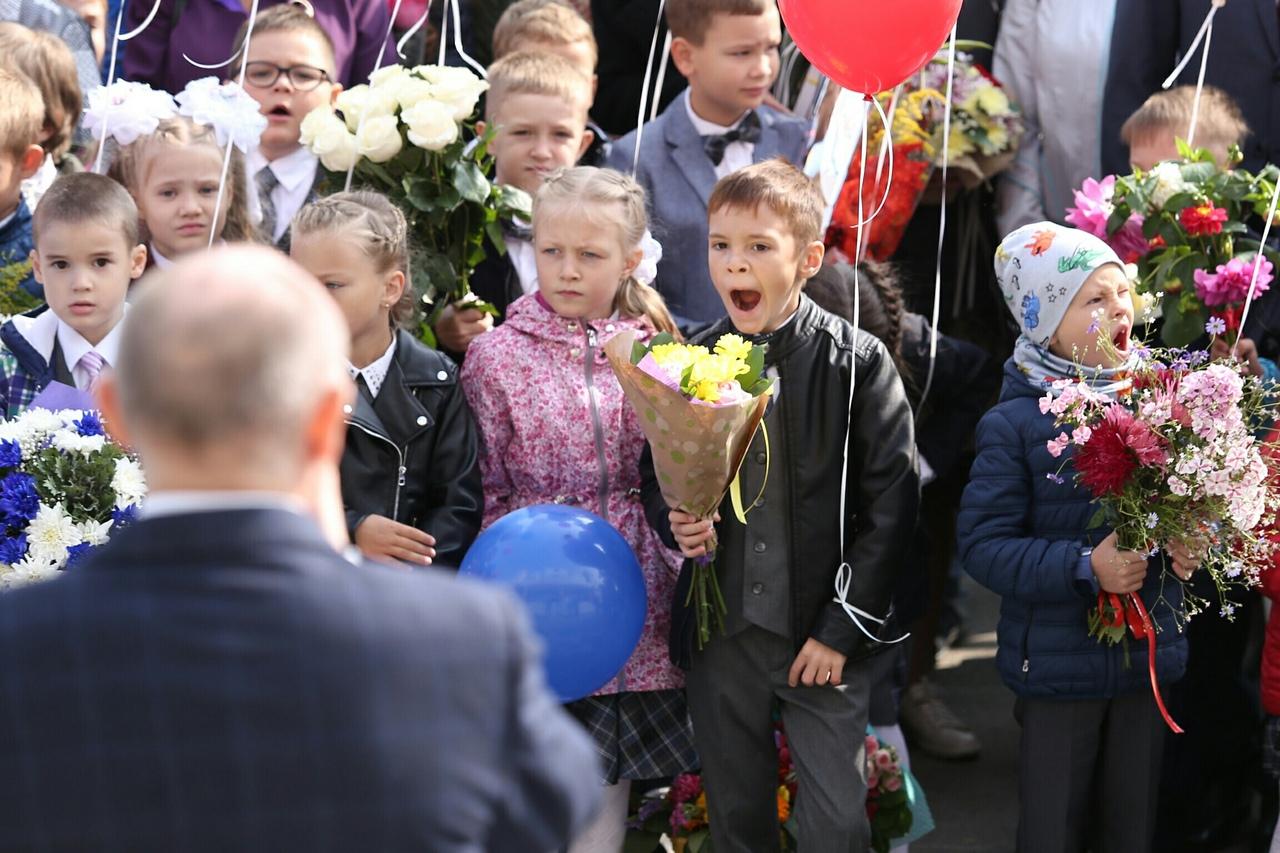 Выступление губернатора заинтересовало не всех детей