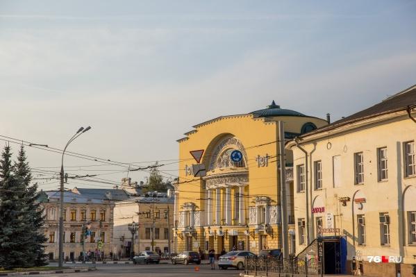 Ярославль туристы называют парадным