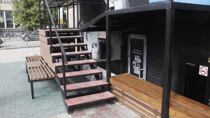 На месте бывшего общественного туалета в гостинице «Центральная» откроется бар крафтового пива