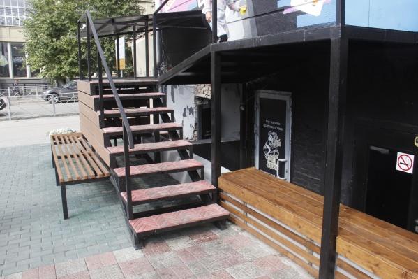 Бар томской пивоварни дополнит список заведений, открывшихся на «гастрономической улице» гостиницы «Центральная»