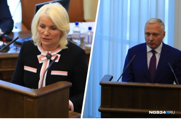 После доклада Татьяны Давыденко председатель правительства обрушился на нее с разоблачающей критикой