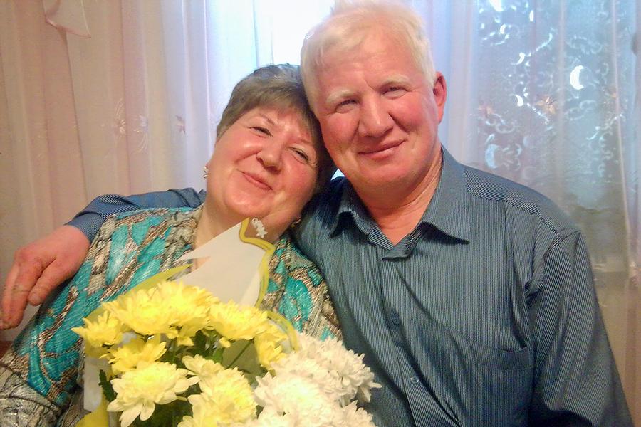Евгения и Сергей вместе уже 20-й год