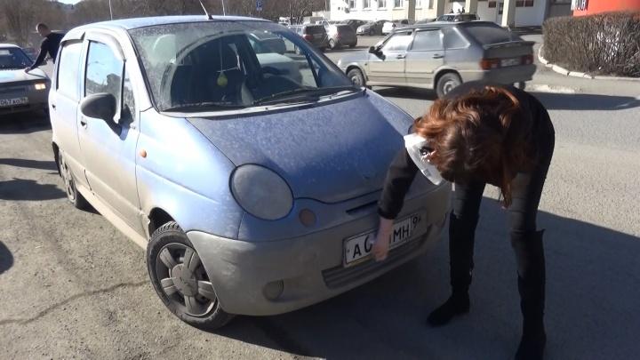 Помойте до блеска: автоинспекторы начали ловить на дорогах Урала машины с грязными номерами