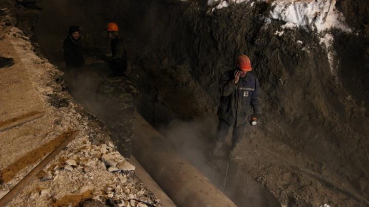 Улицу Семьи Шамшиных раскопают из-за ремонта теплотрассы