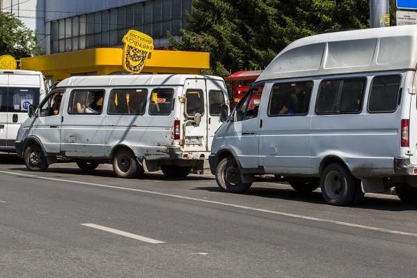 Путь маршрутного такси немного удлинился