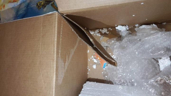 «Праздник испорчен»: из посылки челябинца, отправленной «Почтой России», пропал подарок для внука