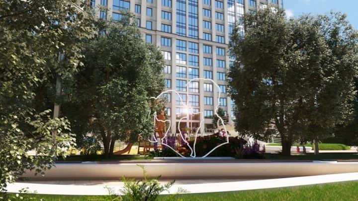 Рядом с метро «Золотая Нива» строят новый жилой комплекс, который изменит облик района