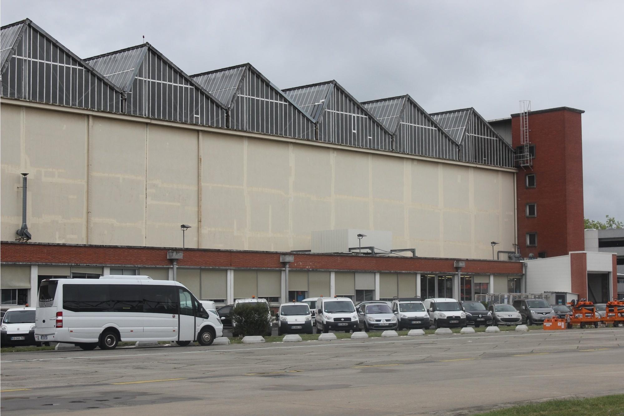 Самый старый цех завода Airbus в Тулузе
