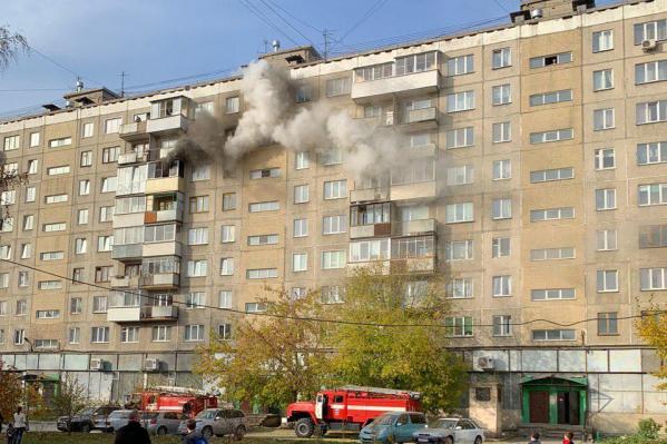 Всего из дома эвакуировали 5 человек