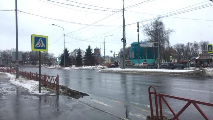 На проспекте Фрунзе собираются демонтировать самый удобный пешеходный переход