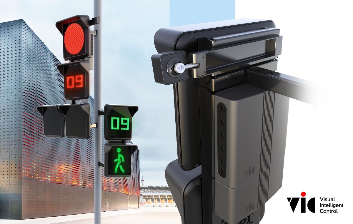 Пример, как светофор может выглядеть в жизни