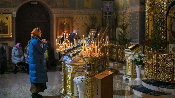 В ночь на субботу у храмов перекрывают движение ради Крещения