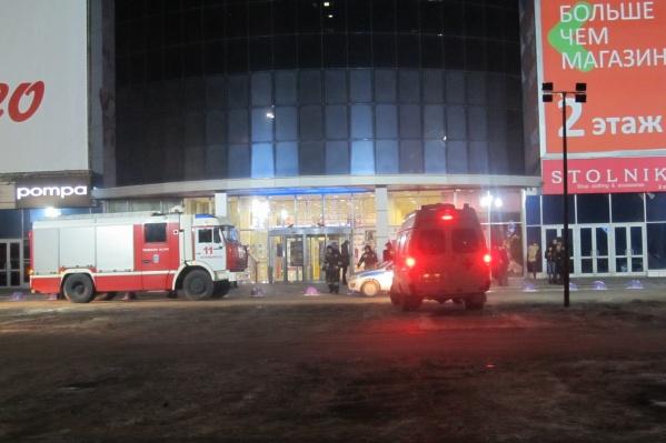 Пожар произошёл на первом этаже здания на улице Молдавской, 16