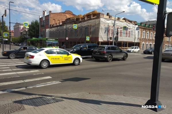 В городе перестали работать светофоры