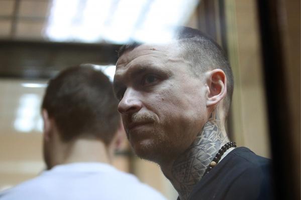 Футболист Павел Мамаев, обвиняемый в хулиганстве по предварительному сговору, во время оглашения приговора в Пресненском районном суде