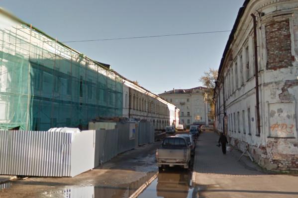 Убийство произошло в Банковском переулке