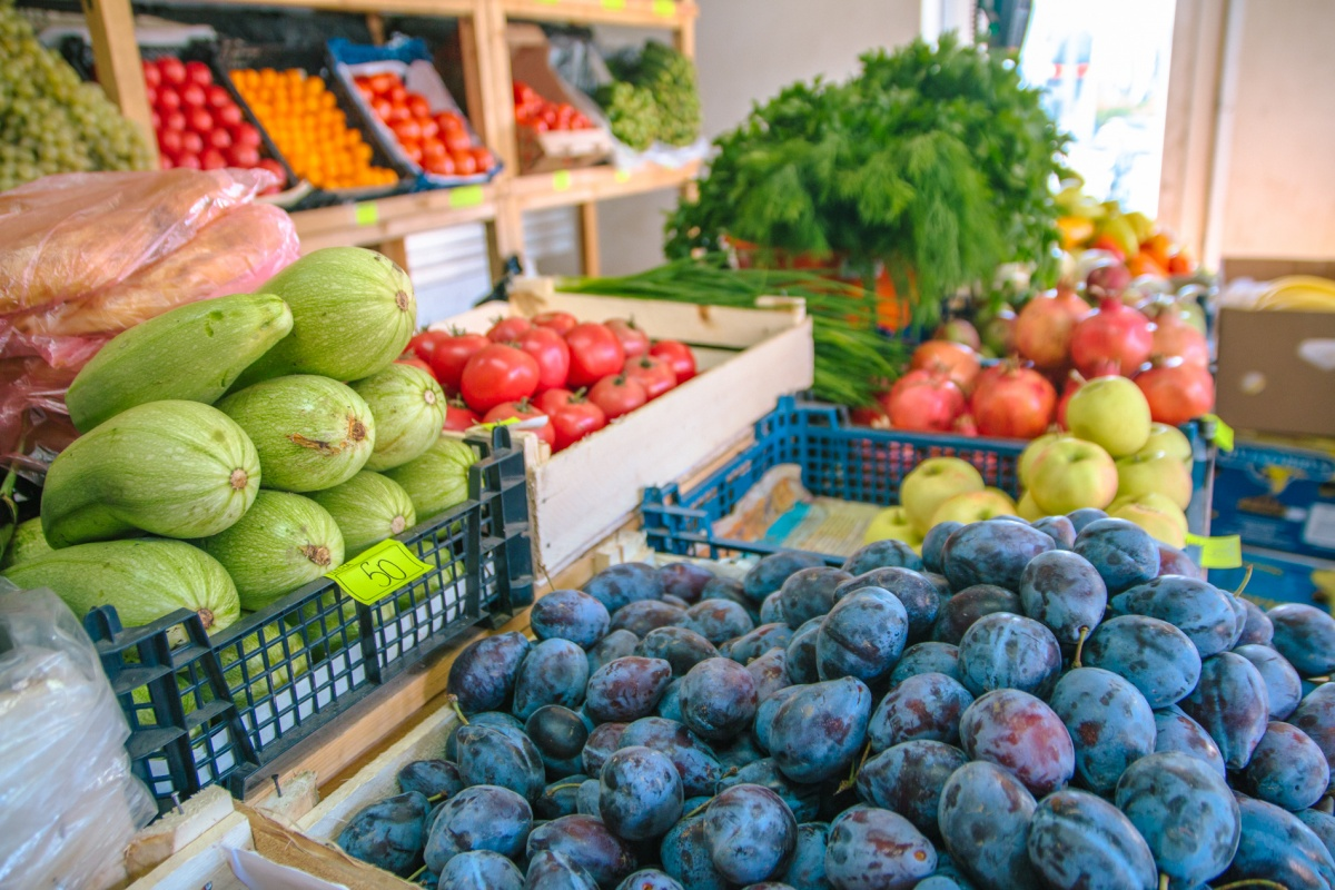 Фрукты и овощи - основа постного меню