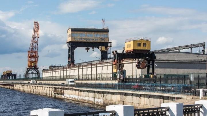 Дорогу через Нижегородскую ГЭС ремонтируют. Следим за транспортными ограничениями