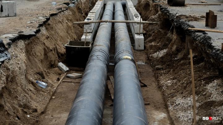 В Перми на этой неделе отключат холодную воду в трех районах. Карта