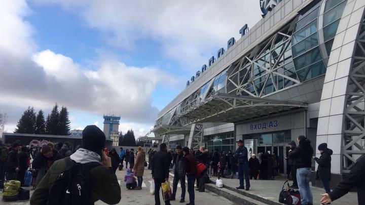 Третья волна: в Новосибирске снова «заминировали» автовокзал и аэропорт