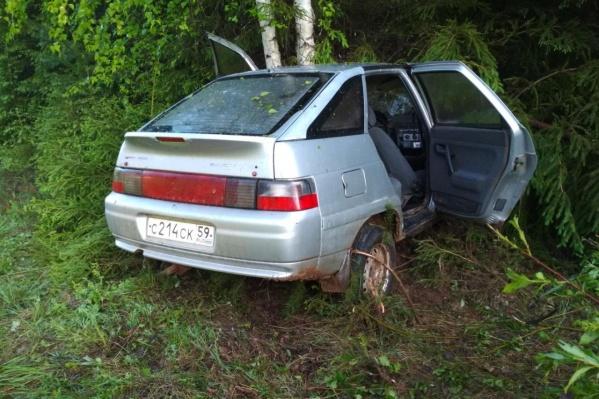 ДТП случилось на трассеКудымкар — Пожва